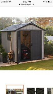 SHEDS  and wood bases 587  340 7671