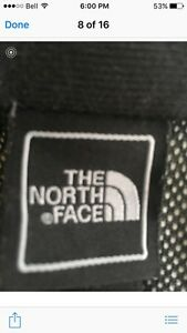 XS women's north face shell