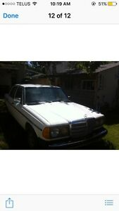 DEISEL MERCEDES 1985 GREAT CONDITION