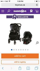 Graco modes 35 (car seat, base and stroller)