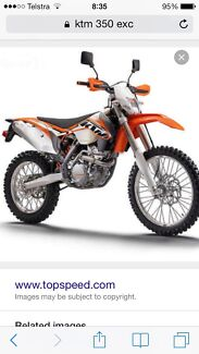WANTED -2014 Ktm 350exc Swap for Ktm 500exc Toodyay Toodyay Area Preview