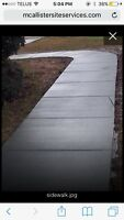 Affordably priced concrete! Contact us today!!