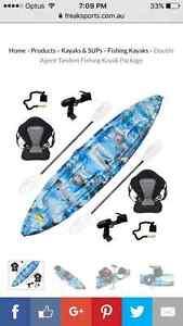 3 man freak fishing kayak