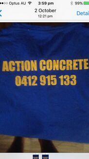 Action concrete Wa