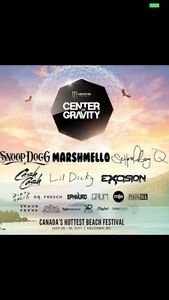 Center of Gravity Sunday Ticket