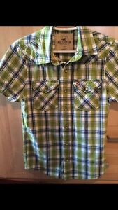 Hollister Button Down Short Sleeve