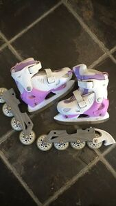 Changeable skates
