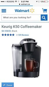 Keurig coffee maker ($120 new)