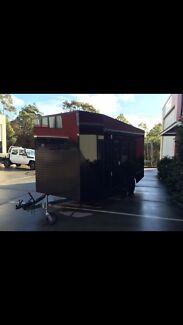 Enclosed trailer car trailer moto trailer gokart trailer Wadalba Wyong Area Preview