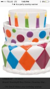 Brand new in box it's a party birthday warmer