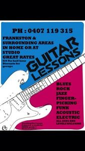 Guitar lessons! Langwarrin South Frankston Area Preview