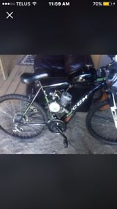 Gas assisted bicycle for sale 650.00