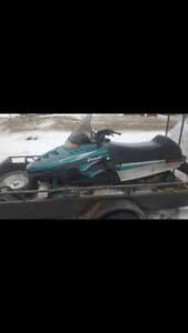 1996 POLARIS INDY TRAIL NEW TRACK AND SEAT