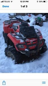 Looking for Can-Am Parts/Parts quad.