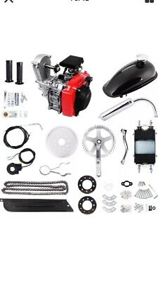 4-Stroke 49cc Engine Motorized Bicycle Complete KIT. NICE!!!!