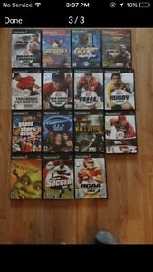 PlayStation 2 with game and memory card