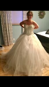 Gorgeous Stella York wedding ball gown