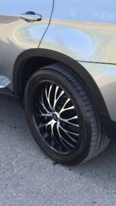 4 mags et pneus