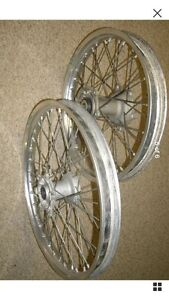 2008 YZ250F front and rear Takasago Excel rims