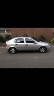 2001 Silver Holden Astra CD