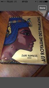 """Livre """" Au royaume des pharaons"""""""