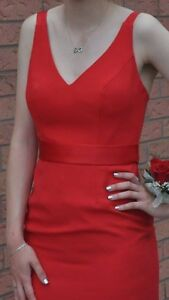 Red Prom Dress Size 2