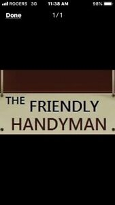 Friendly handyman