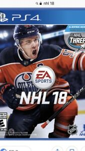 Nhl 18 for PS4  new