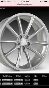 "Mag wheels 20"" Ace convex"