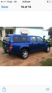 Holden Rodeo  tub and canopy only sale willing to seperate Hinchinbrook Liverpool Area Preview