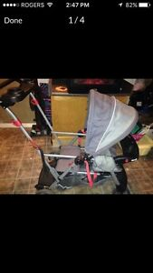 Sit and stand stroller  Kitchener / Waterloo Kitchener Area image 4