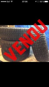 Pneu hivers Honda Civic  185/65/r14