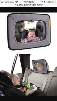Brica baby in sight car mirror