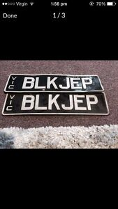 Car number plates Meadow Heights Hume Area Preview