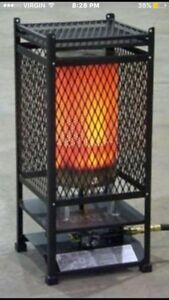 Radiant Natural Gas Construction/Space Heater