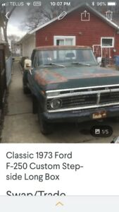1973 Ford F-250 step side