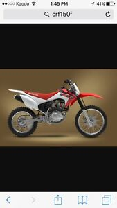 Looking For Honda Crf150F