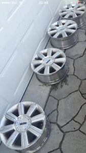 """4 Mags 17"""" 5x114.3 Lincoln MKX Ou Ford Edge et autres"""