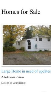 Large  Mobile Home in need of updates