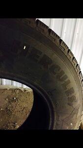 4 pneu d'hiver et 4 pneus d'été  West Island Greater Montréal image 1