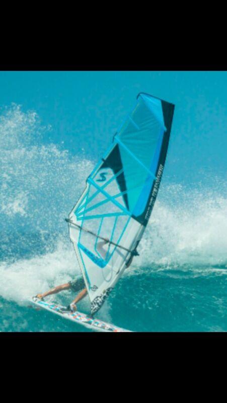 2017 Simmer Blacktip X 4.2 NEW Windsurfing Sails