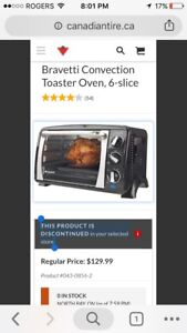Convention toaster oven