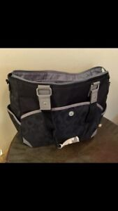 Diaper Bag. Great Bag! Lots of space and dividers and pockets!