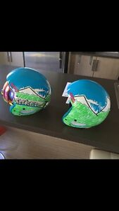 "Shred Ski Helmets L-XL and S-M, Goggles, ""Need more snow"", model"