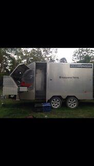 Toy hauler motorbike enclosed trailer MAY SWAP FOR CARAVAN Gympie Area Preview