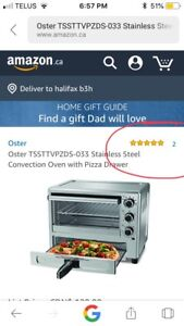 Toaster oven convection