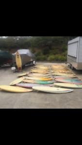 Vintage surfboards 80s retro sale