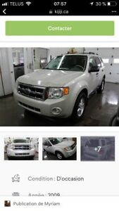 Ford Escape xlt  2009    6000$