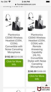 Wireless ear-piece. REDUCED!! $150