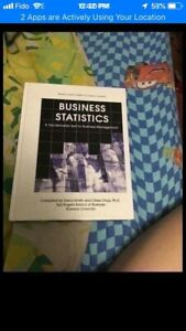 Business statistic text book management 7th edition